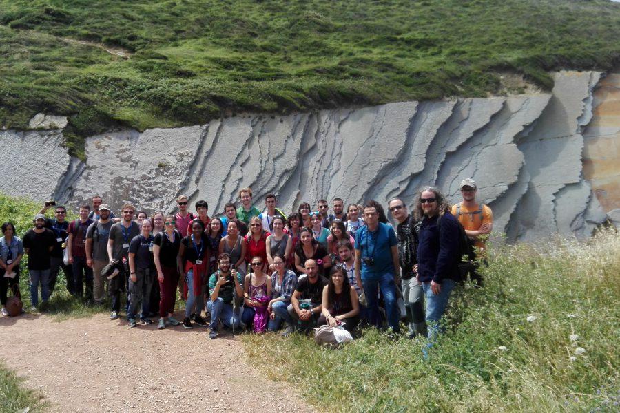 Con los estudiantes de la NASA y la UIMP en Algorri