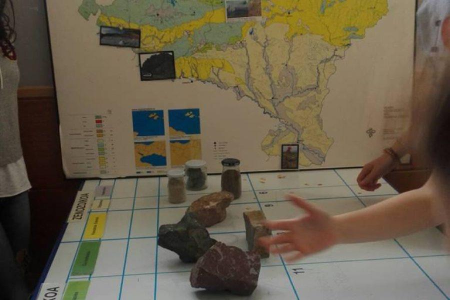 Zizurko ikasleekin historia geologikoa lantzen