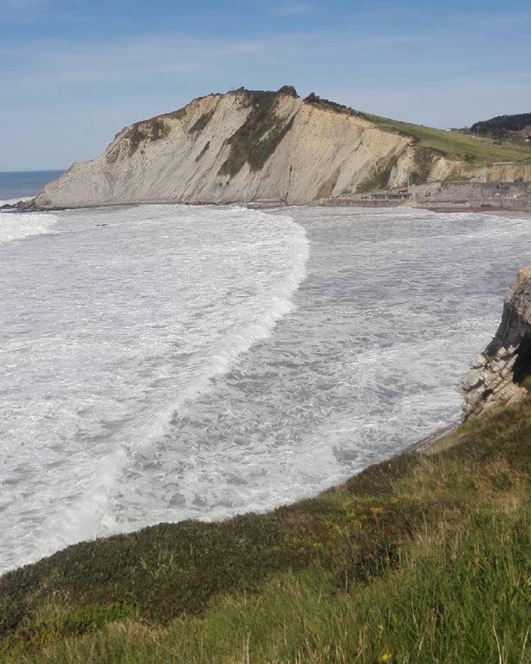 Hoy hemos visto enormes olas