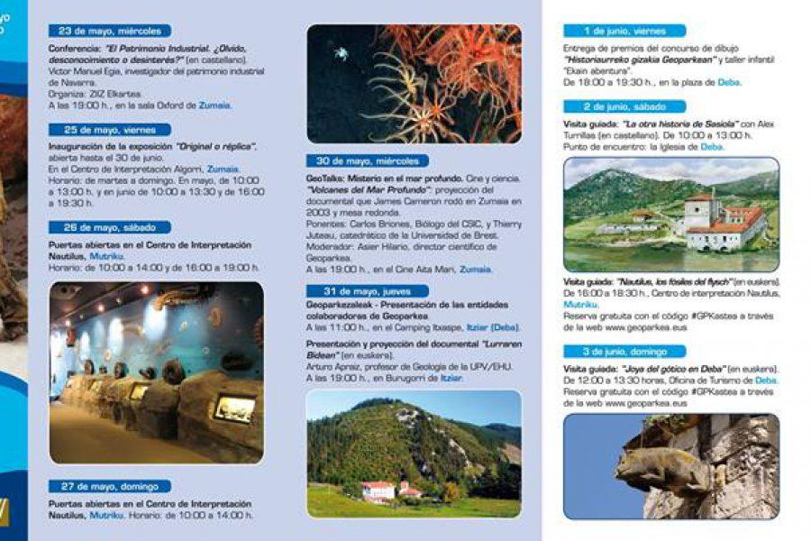 Hemen da Geoparkeen Europako Astea