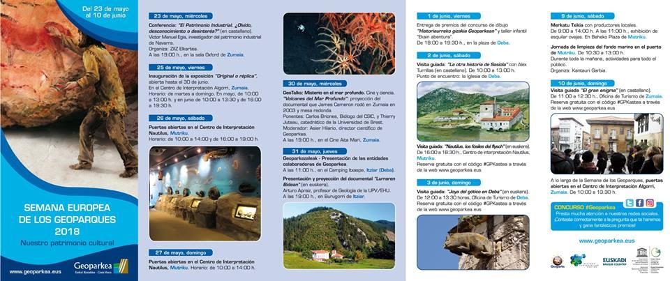Ya está aquí la Semana Europea de los Geoparques