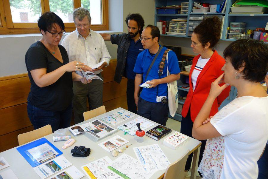 Evaluación del Geoparkea por la UNESCO