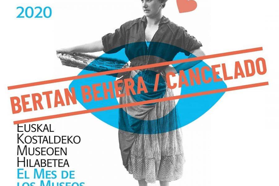 Euskal Kostaldeko Museoen hilabeteko ekintzak bertan behera